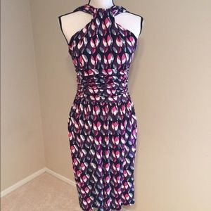 M by Missoni Ruched jersey dress Large $501